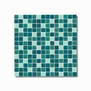 Paradise Koh Samui Glass Mosaic Tile 300x300 Sheet