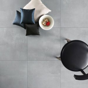 Vogue Light Grey Lappato Floor Tile 600x600mm