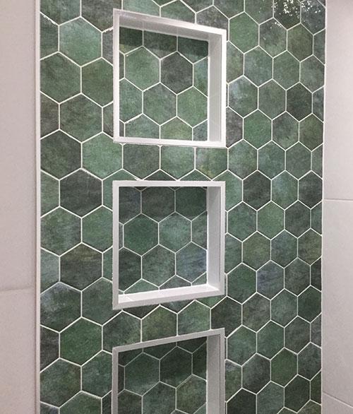 Hex Zellige Wall Tile 265x510mm