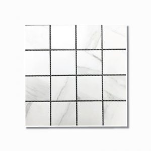 Carrara Square Matt Mosaic Tile 306x306mm