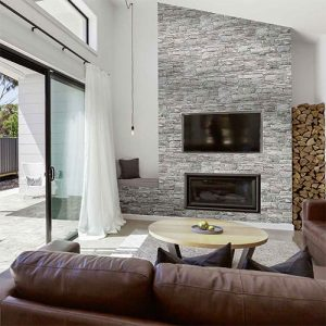Vulcani Grigio Wall Cladding Tile 160x400mm