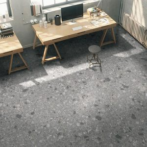 Affogato Dark Grey Floor Tile 600x600mm