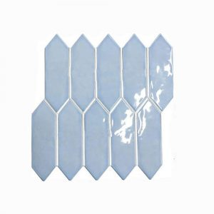 Arrow Head Light Blue Feature Tile 292x324mm