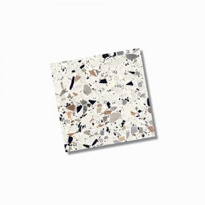 Fragment Macro Bianco Floor Tile 200x200mm