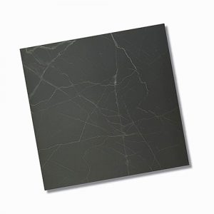 In Saint Laurent Black Polished Floor Tile 600x600mm
