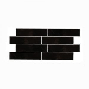 Casablanca Black Gloss Wall Tile 242x580mm