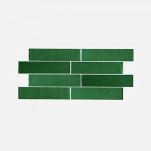 Casablanca Bottle Green Gloss Wall TIle 242x580mm