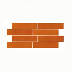 Casablanca Orange Gloss Wall Tile 242x580mm