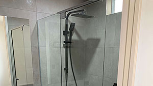 Installation of Hydro Seal Shower System Glass Screen