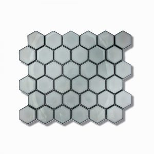 Hexagon Antique Grey Feature Tile