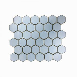 Hexagon Antique Blue Feature Tile