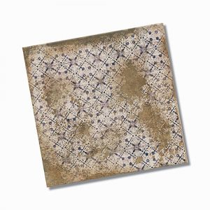 Antigua Deco Terra Matt Floor Tile 333x333mm