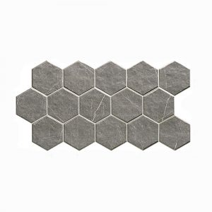 Muse Hex Grey Matt 265x510mm