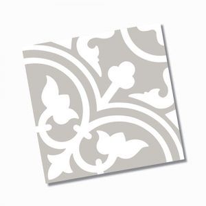 Picasso Shadow Grey Floor Tile 200x200mm