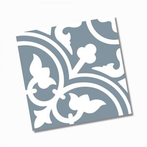 Picasso Shadow Baby Blue Floor Tile 200x200mm