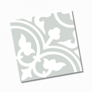 Picasso Shadow Pale Green Floor TIle 200x200mm