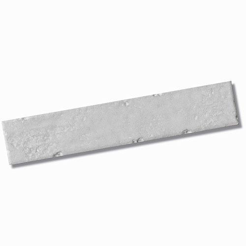 Brickart Half White Gloss Floor Tile 45x230mm