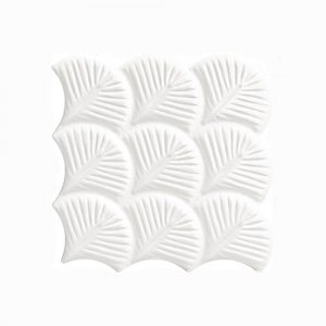 Scale Shell Glossy Interlocking Tile 307x307mm