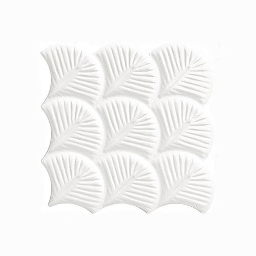 Scale Shell Glossy Interlocking Tile 307x307mm