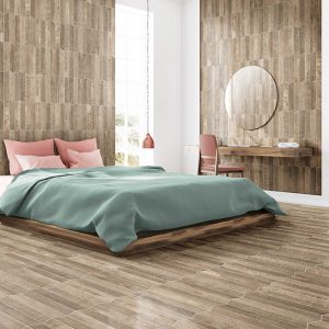 Barn Oak Floor Tile 440x440mm
