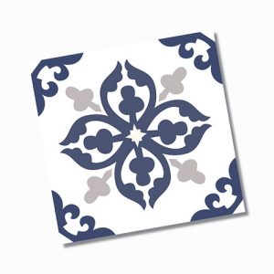 Avon Blue Floor Tile 200x200mm
