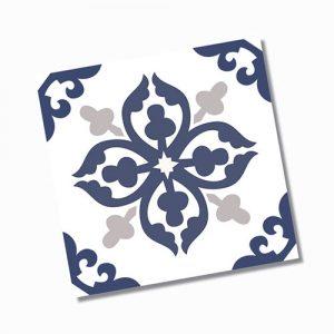 Avon Blue Floor Tile 200x200mm