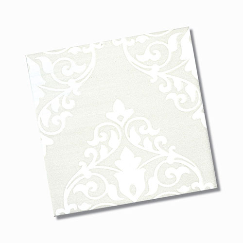 Ashfield Bone Gloss Floor Tile 200x200mm