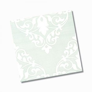 Ashfield Light Green Gloss Floor Tile 200x200mm