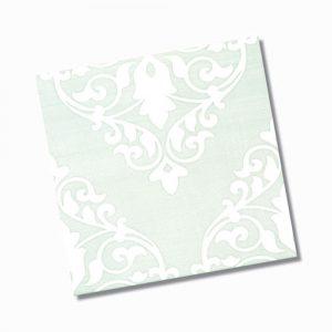 Ashfield Light Green Gloss Floor Tile 200x200mm
