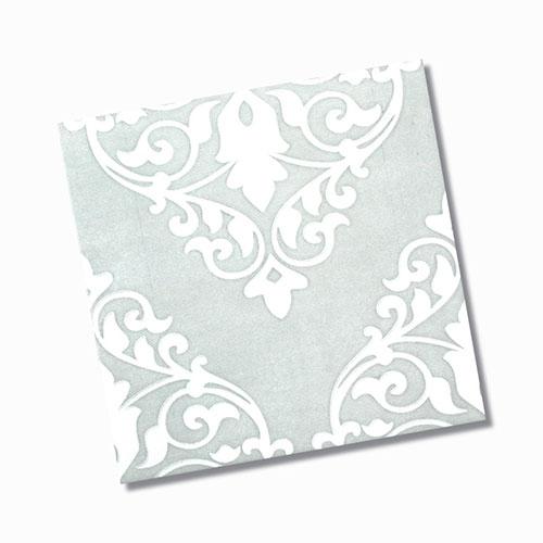 Ashfield Grey Gloss Floor Tile 200x200mm