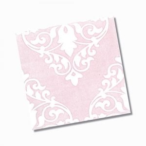 Ashfield Pink Gloss Floor Tile 200x200mm