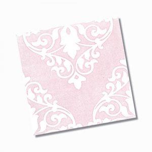Ashfield Pink Gloss Floor Tile 200x200mm