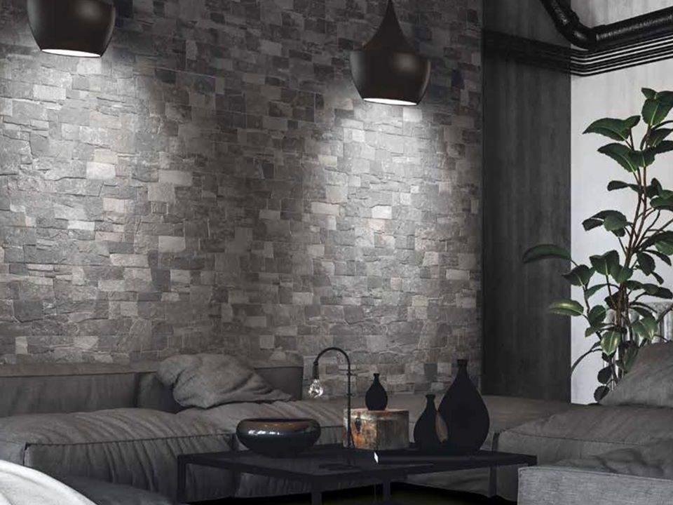 Lyon Dark Wall Tile 150x610mm