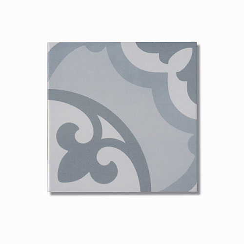 Meena Blue Floor Tile 200x200mm