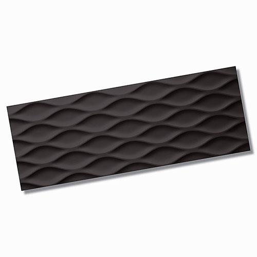 Genesis Float Black Matt Wall Tile 450x1200mm