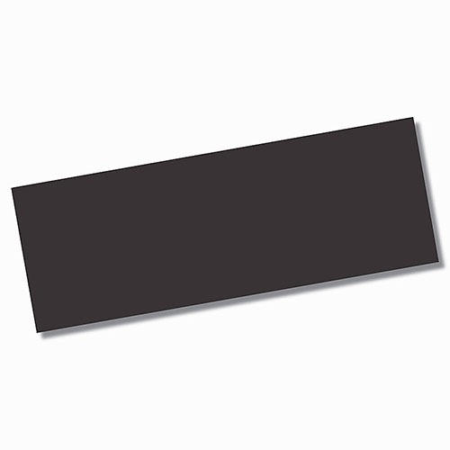 Genesis Black Matt Wall Tile 450x1200mm