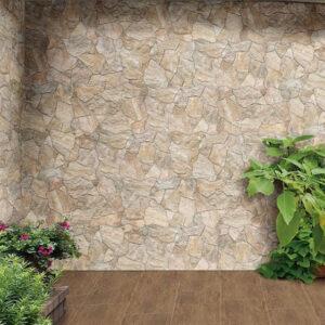 Deva Beige Interlocking Floor Tile 440x660mm