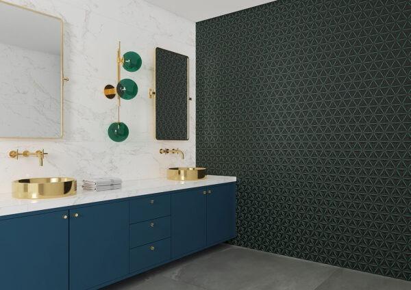 Hit Neon Green Matt Wall Tile 320x100mm