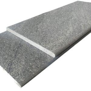 River Stone Dark Grey Bullnose Tile 300x600x20mm