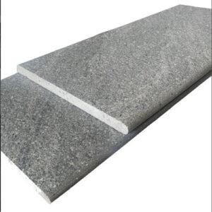 River Stone Light Grey Bullnose Tile 300x600x20mm