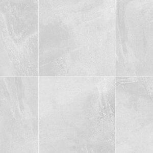 Zeus White Matt Floor Tile 600x600mm