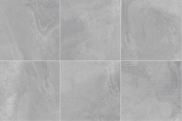 Zeus Grey Matt Floor Tile 600x600mm