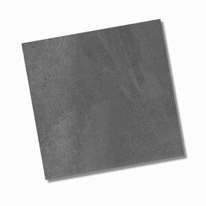 Zeus Charcoal Matt Floor Tile 600x600mm