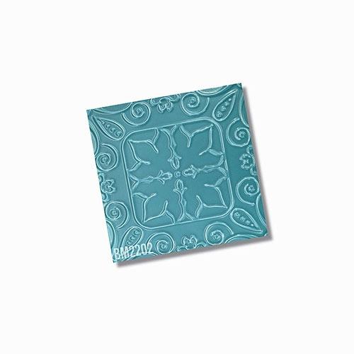 Bespoke Teal Solar Matt Wall Tile 200x200mm