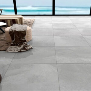 Zeus Grey Matt Floor Tile 600x600mm