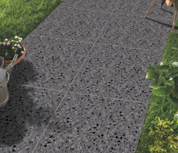 Galaxy Charcoal Matt Floor Tile 600x600mm