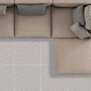 Castella Light Grey Matt Floor Tile 600x600mm