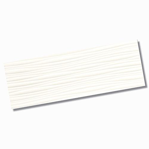 Genesis Wind White Matt Wall Tile 350x1000mm