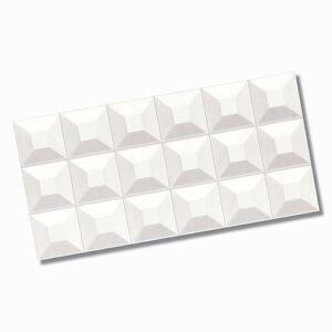 Winter Ice Cube White Wall Tile 300x600mm